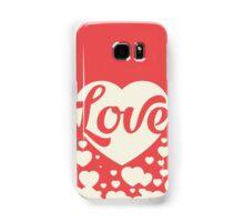 Love Red Samsung Galaxy Case/Skin