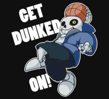 Undertale Sans Get Dunked On T-Shirt Kids Clothes