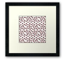 Coffee Bean Print Framed Print