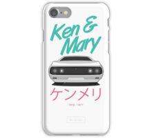 Nissan Skyline Kenmeri (Ken & Mary) [White] iPhone Case/Skin