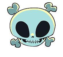 Jolly Skull by RayneGallows