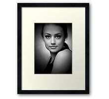 Miss O Framed Print