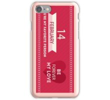 Special February iPhone Case/Skin