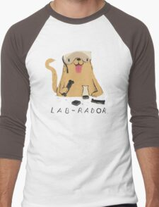 lab-rador Men's Baseball ¾ T-Shirt