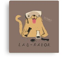 lab-rador Canvas Print