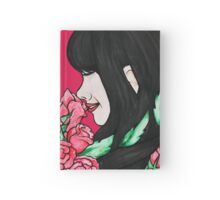 Stop and smell the Roses Hardcover Journal