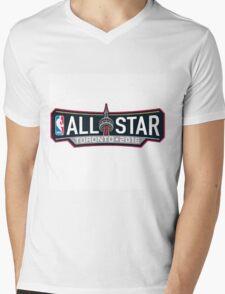 NBA All-star 2016 Toronto Mens V-Neck T-Shirt