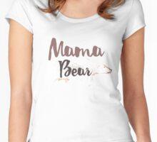 Polar Mama Bear Women's Fitted Scoop T-Shirt