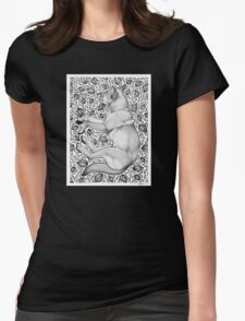 Dingo Dreaming Womens Fitted T-Shirt