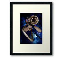 Trombone by Anne Winkler Framed Print