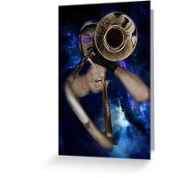 Trombone by Anne Winkler Greeting Card