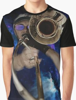 Trombone by Anne Winkler Graphic T-Shirt