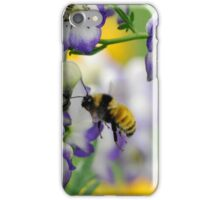 Bumble Bee in the Monk's Hood iPhone Case/Skin