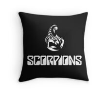 scorpions Throw Pillow