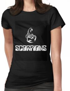 scorpions Womens Fitted T-Shirt