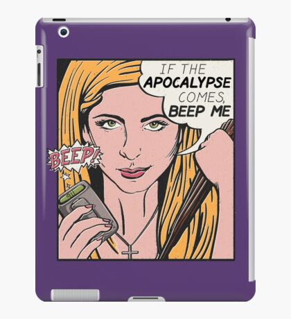 Pop Art Slayer iPad Case/Skin