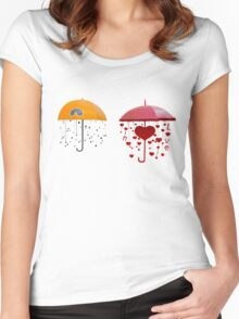 umbrellas Women's Fitted Scoop T-Shirt