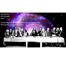 """""""Creationism in Science"""" Photographic Print"""
