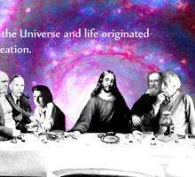 """Creationism in Science"" Sticker"