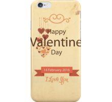 Vintage Valentine iPhone Case/Skin