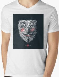 vandetta Mens V-Neck T-Shirt