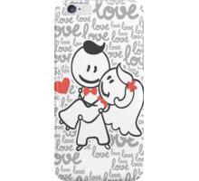Wedding Valentine iPhone Case/Skin
