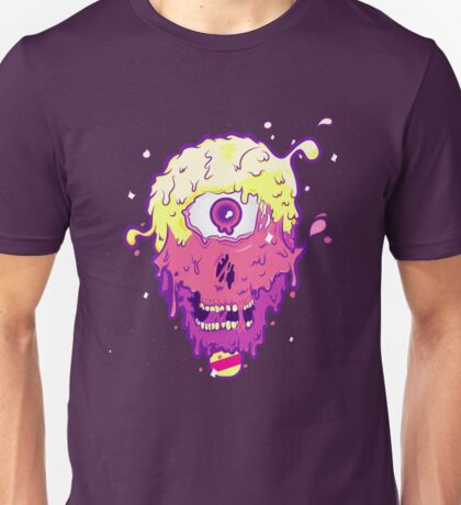 Melty Skull Unisex T-Shirt