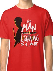 The Man with the Lightning Scar Classic T-Shirt
