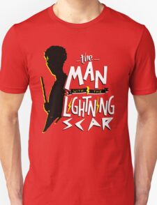 The Man with the Lightning Scar T-Shirt