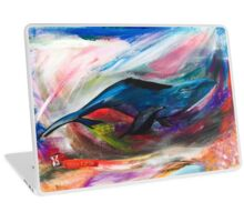 """Chaos"" Surreal Whale Laptop Skin"