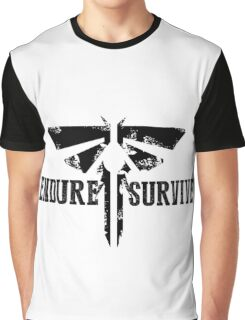 "The Last of Us ""Endure and Survive"" Firefly Emblem Graphic T-Shirt"