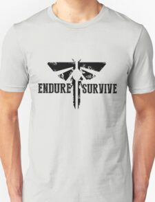 """The Last of Us """"Endure and Survive"""" Firefly Emblem Unisex T-Shirt"""