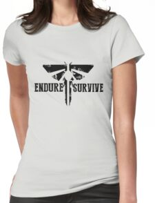 "The Last of Us ""Endure and Survive"" Firefly Emblem Womens Fitted T-Shirt"