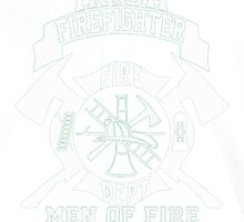 Irish Firefighter by HotTShirts