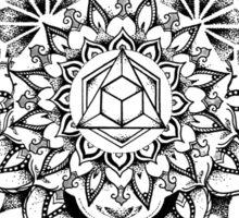 Geometric Mandala Sticker