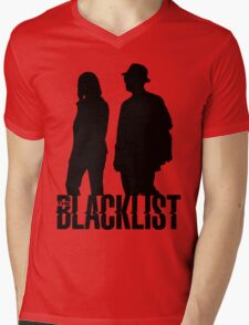 Red and Liz Silhouettes  Mens V-Neck T-Shirt