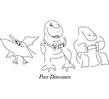 Poor Dinosaurs Photographic Print