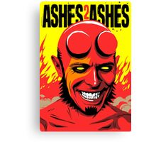 Ashes to Ashes Canvas Print