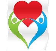 valentine's day design Poster