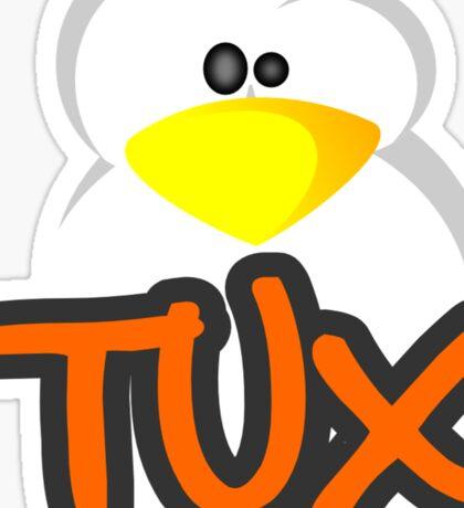 T U X Sticker