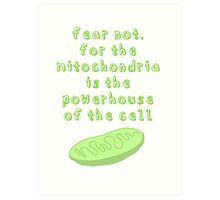 Powerhouse of the Cell Art Print