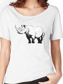 Black Rhino  Women's Relaxed Fit T-Shirt