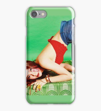 Krystal F(X) 4 walls iPhone Case/Skin