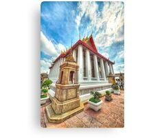 Wat Pho Grandeur Canvas Print
