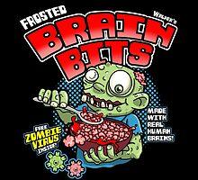 Frozen Brain Bits by BoggsNicolasArt