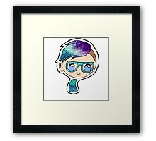 Galaxy Chibi Framed Print