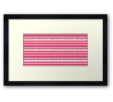 Happy Valentine Days - Duvets Framed Print