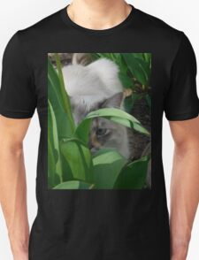 Cat in the Tulips T-Shirt