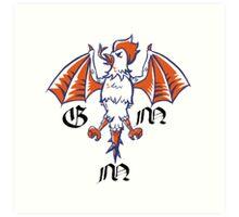 Good Mythical Morning stylized Logo Art Print