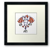 Good Mythical Morning stylized Logo Framed Print